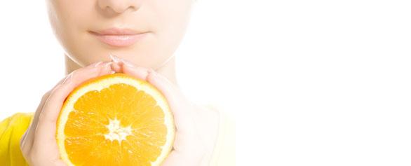 Peeling con vitamina c