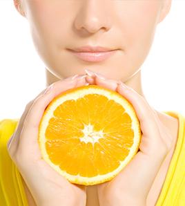 Peeling vitamina C