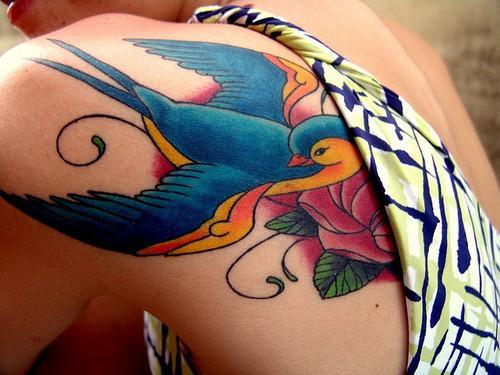 tatuaje en la piel